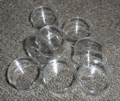 Jotogifts Product - Clear Plastic Tea Light Cups - Standard Size